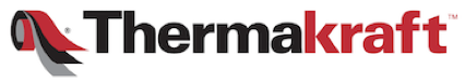 A logo with the word Thermakraft written on it